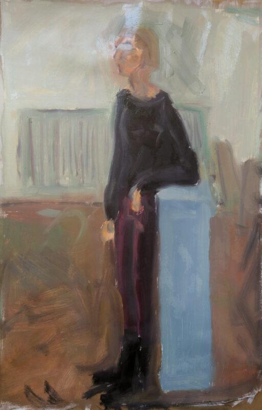Portrait stehend